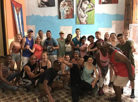 Cuba group picture